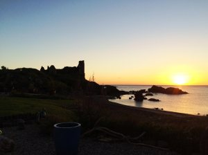 dunure-sunset