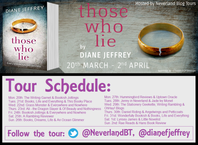 Those Who Lie Schedule Graphic
