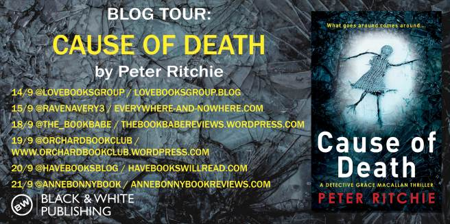 Cause of Death BLOG TOUR
