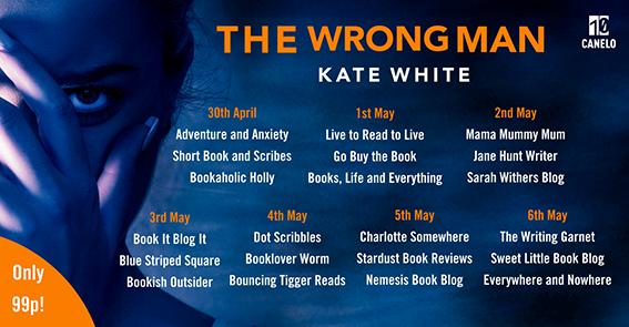 The Wrong Man Blog Tour Banner