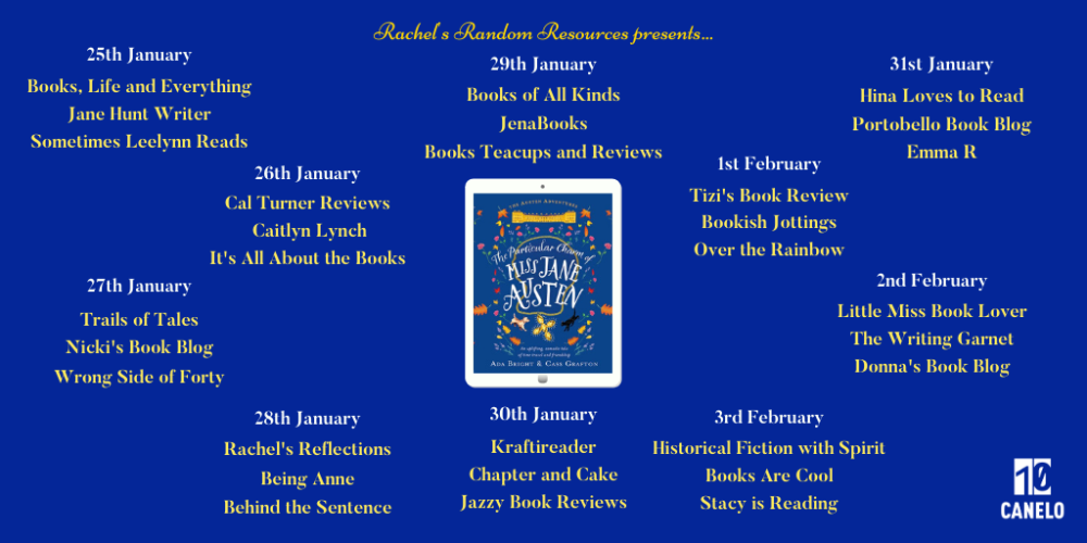 The Particular Charm of Miss Jane Austen Full Tour Banner